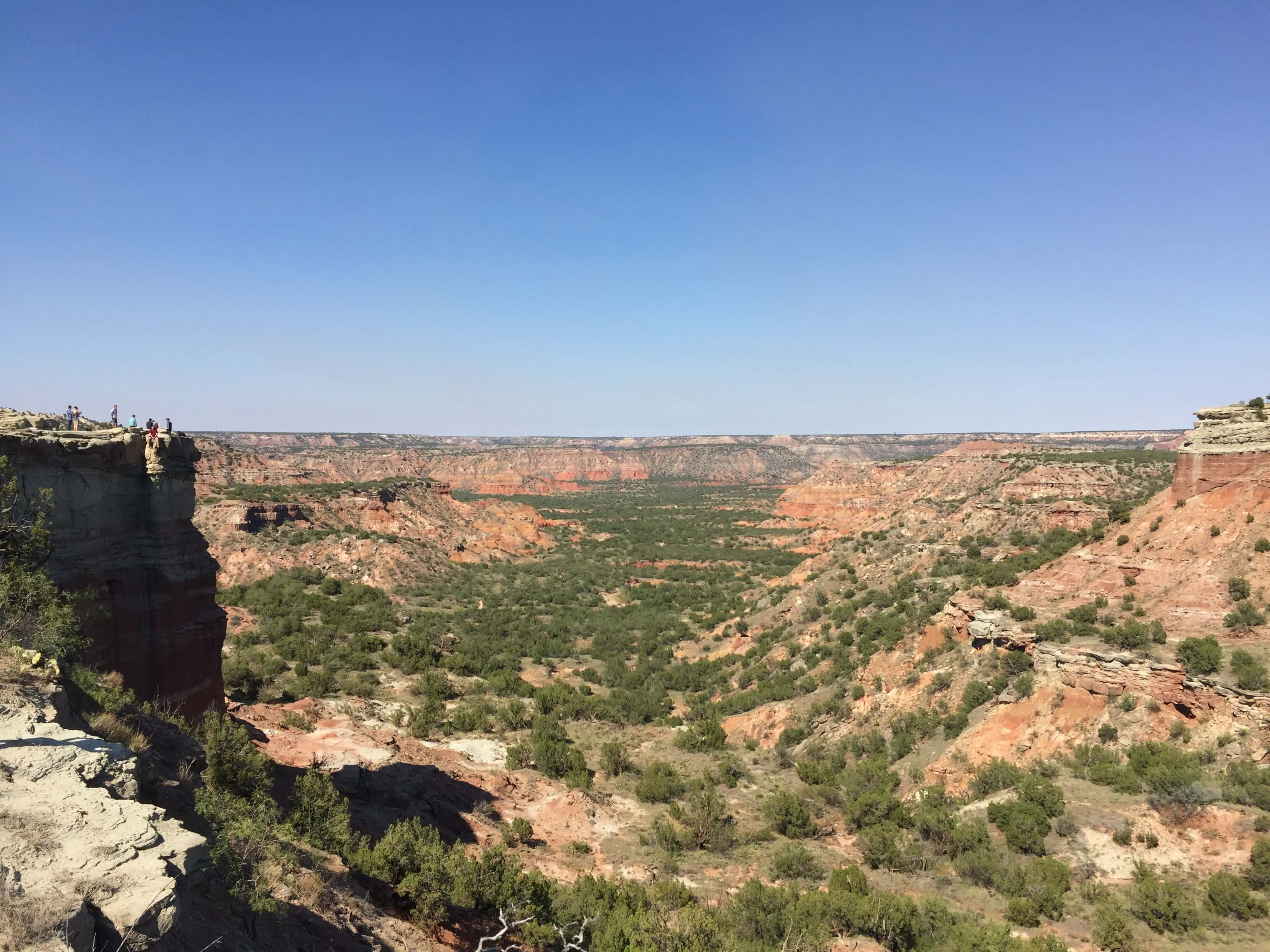 View from Lighthouse Rock - Palo Duro State Park Texas