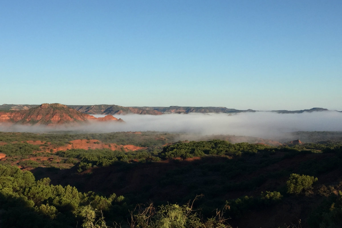 Morning Fog - Caprock Canyons State Park